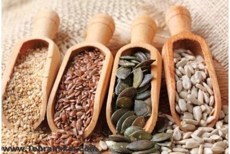 6 دانه فوقالعاده مفید برای پوست، مو و ناخن