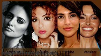 تفاوت رنگ پوست ایرانیان و اروپایی ها