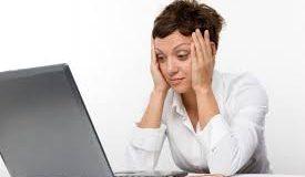پیری زودرس صورت به دلیل کارکردن با کامپیوتر!