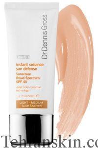 Dr. Dennis Gross Instant Radiance Sun Defense Sunscreen Broad Spectrum SPF 40