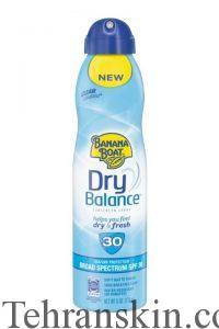 Banana Boat Dry Balance Sunscreen Clear UltraMist SPF 30