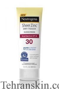 Neutrogena Sheer Zinc Dry-Touch Sunscreen Broad Spectrum SPF 30