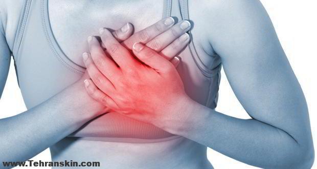 درد سینه و درد نوک سینه